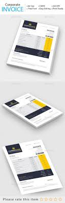 best ideas about invoice design invoice template corporate invoice