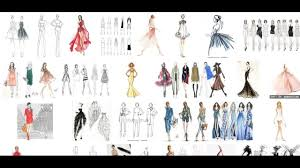 Youtube Fashion Design Sketches How Do Draw Fashion Sketches