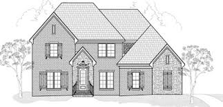 Memphis Home Builders | SR Dalton Floor Plan Elevation - D&D Custom Homes