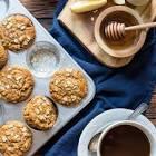 apple honey oatmeal muffins