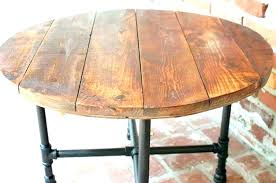 round table base round coffee table round rustic coffee table image of rustic round coffee round table base coffee diy wood coffee table with pipe legs