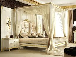 Gold Canopy Bed Queen Furniture Luxury Full Size Canopy Bed Frame ...