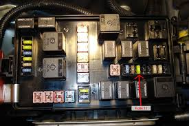 where is the number 11 fuse? 2007 Dodge Magnum Rear Fuse Box Diagram 2007 Dodge Magnum Rear Fuse Box Diagram #45 2007 Dodge Magnum Owner's Manual Fuse Diagram
