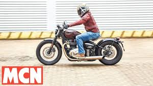 2017 triumph bobber first rides motorcyclenews com youtube