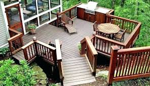 wood deck cost. Deck Pricing Per Sq Ft Cost To Build A How Much Does Wood