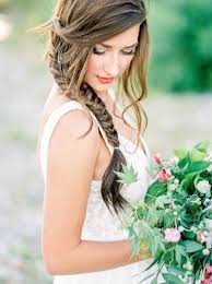 20 spring summer wedding hairstyle ideas that are positively swoon Summer Wedding Hair And Makeup braid wedding hairstyles for long hair www deerpearlflowers com Summer Wedding Hairstyles