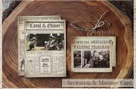 Wedding Newspaper Templates - 7+ Word, Pdf, Psd, Indesign Format ...