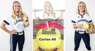 "🥎Catawba Softball🥎 on Twitter: ""Please join us as we wish Junior Carlee  Brawley #9 a Happy 21st Birthday 🎂 🎁🎂🎁 We hope you have a great day!!!…  """