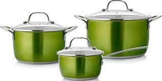 <b>Набор посуды Esprado</b> Emerald , 6 пр., нерж. сталь купить в ...