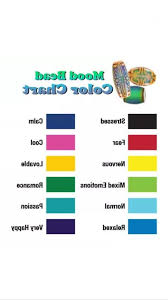 35 Thorough Justice Mood Ring Color Chart