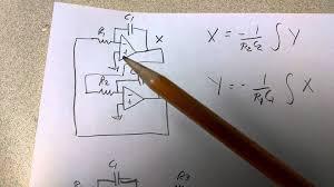 opamp diffeial equation building bocks