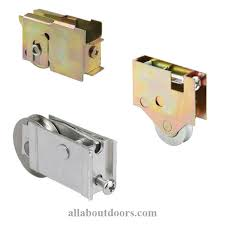 single wheel patio door roller assemblies