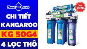KG50G4 Máy lọc nước RO Kangaroo Hydrogen 9 lõi lọc 4 CẤP LỌC THÔ #KG50G4 ✓  #KG50G4KV #KG50G4VTU ✓ - YouTube