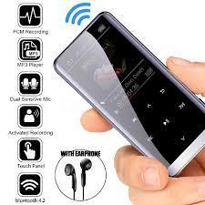 Bluetooth MP3 Nghe Hifi Máy Nghe Nhạc Hifi Lossless Nghe Nhạc Mini Có Đài  FM Thể Thao Âm Nhạc Loa Tai Nghe MP3 Kim Loại Máy Nghe Nhạc Đáp HiFi  Players