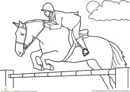 Small Picture Horse Coloring Pages Printables Educationcom