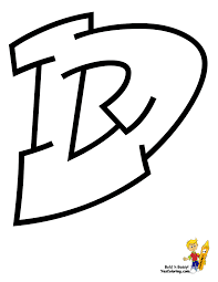 Cool Graffiti ABC Coloring Pages | ABC | Free | Alphabet Coloring ...