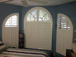 Curved Window Coverings  Beach Style  Bedroom  By BlindscomSemi Circle Window Blinds