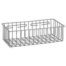 r b wire 2255 metal medical storage basket wall mounted