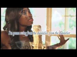 chandelier coco jones sia cover s