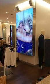 Small Picture Video Wall Signage Multi Display Digital Signage Software