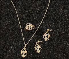 black hills gold hummingbird jewelry collection 3 items