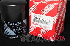 Toyota Oil Filter Chart Oil Filter