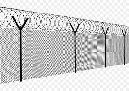 barbed wire fence png.  Wire Barbed Wire Fence Chainlink Fencing  Fence With Wire Png I
