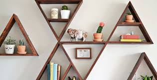 Circular Floating Shelves Enchanting Floating Shelves In Unique Shapes On Shelf Rustic Wood Floating