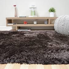 plush gy rugs in dark chocolate brown