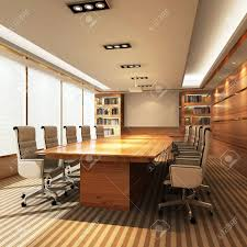office meeting room. 3D Office Meeting Room Stock Photo - 43665148