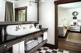 country style bathroom with reclaimed wood sink vanity with trough regarding vintage trough sink plan farmhouse sink vanity farmhouse double sink vanity