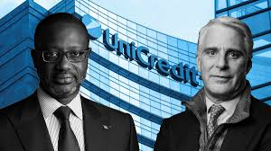 UniCredit sounds out Andrea Orcel and Tidjane Thiam as hunt for new chief  narrows