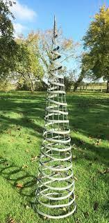 1 5m french grey garden obelisk plant
