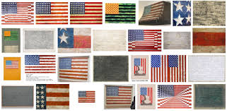 see the many versions of jasper johns