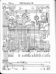 rambler wiring diagrams the old car manual project 1963 rambler 6 american