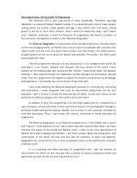 how to write a descriptive narrative essay composition patterns narrative and descriptive