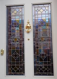 extraordinary stained glass exterior door plain design front p timber window bahroom light insert uk french paint wood