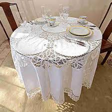 inspiration round tablecloth battenburg lace 70 90 inch white all cotton uk size target 120
