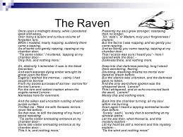 the raven edgar allan poe ppt video online  the raven