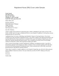 Resume Cover Letter For Lpn Lvn Cover Letter New Lpn Cover Letters New Grad Sample