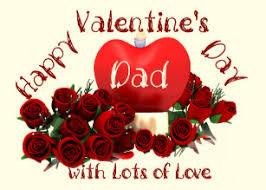 happy valentine s day dad. Perfect Day Happy Valentineu0027s Day Dad Holiday Card To Valentine S D