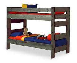 Bunk Bed Wrangler Twin Over Twin Bunk Bed Driftwood Finish Hom