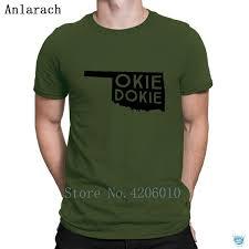 Okie Dokie T Shirts Tops Weird Customize 2018 T Shirt For Men New Fit Cotton Simple Tee Shirt Novelty T Shirt 1 1 T Shirt From Dzuprightc 16 15