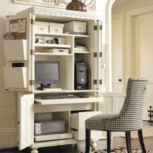 office armoire. armoire turned into office space or use as craft adding a slide out table