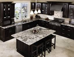 Modern Black Kitchen Cabinets Kitchen Interesting Dark Kitchen Cabinets With Nice Storage