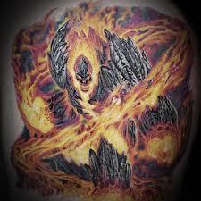 великан сурт татуировка Surtr в германо скандинавской мифологии