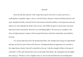 beowulf essay epic hero beowulf is an epic hero essay 469 words bartleby