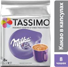 Купить <b>Кофе капсульный TASSIMO</b> Milka Cacao, капсулы ...