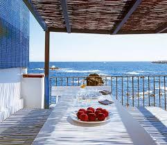 mediterranean beach house on the costa brava mansion plans california mediterranean house plans small plans