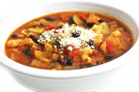 crock pot hearty minestrone soup with